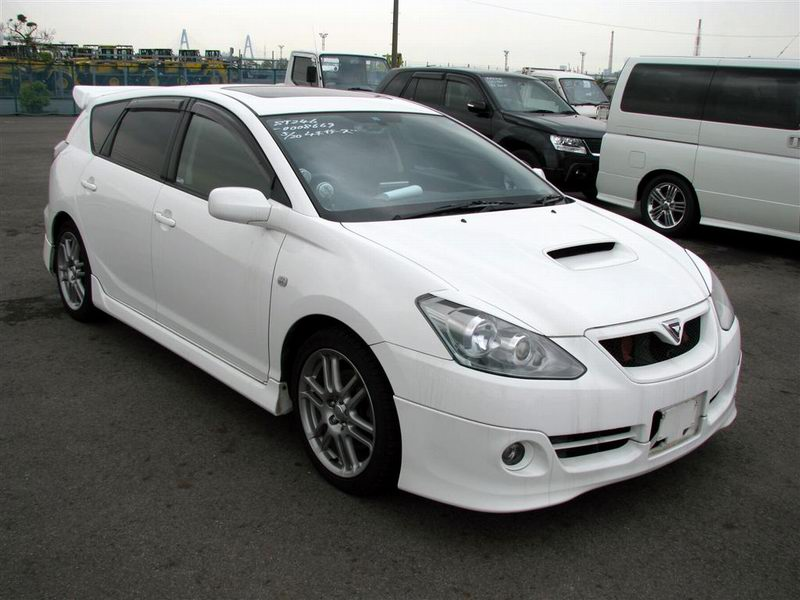 2 cars incl. 2005 Toyota Caldina GT-FOUR