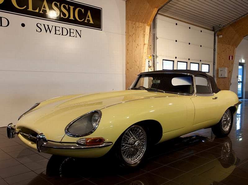 1963 Jaguar E-Type OTS