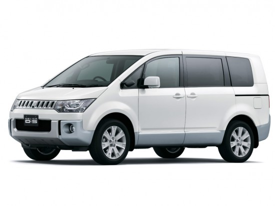 2014 Mitsubishi Delica D:5 (new at the time)